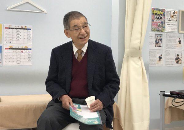 京都大学名誉教授人見滋樹先生より、弊社のGH事業に賛同頂きました